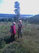 Mushroompicking in Ulricehamn