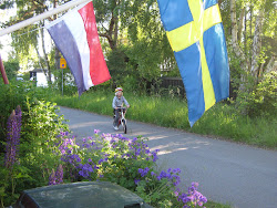 Nils on his bike in Nybrostrand