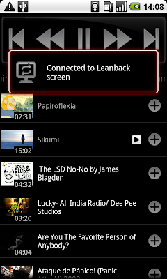 Android YouTube Remote Application