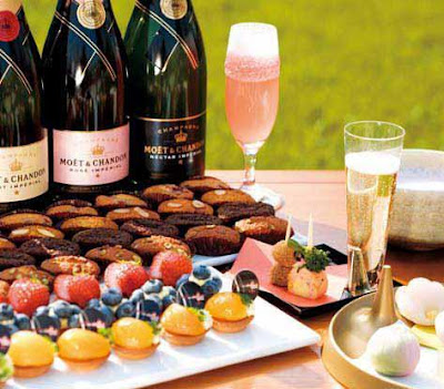 Möet & Chandon and Sweets