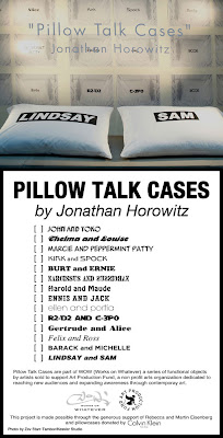 Pillow Talk Cases by Jonathan Horowitz