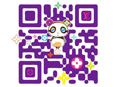 Louis Vuitton QR Codes by Takashi Murakami