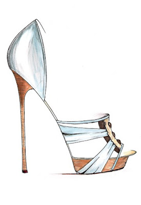 Spring Footwear Sketch Preview