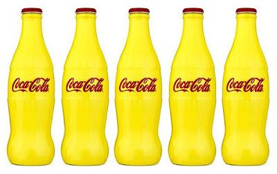 Coca-Cola x Selfridge's Centenary Pantone 109 Bottles
