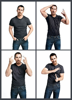 Christian Bale for GQ by Terry Richardson