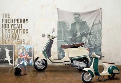 Vespa x Fred Perry 100th Anniversary