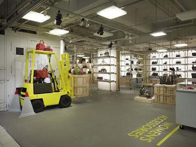 Louis Vuitton Underground Pop-Up Store - Japan