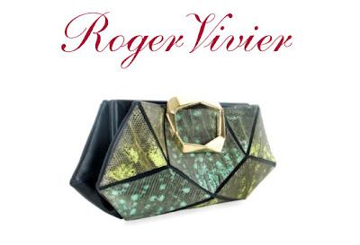 Roger Vivier Faceted Clutch