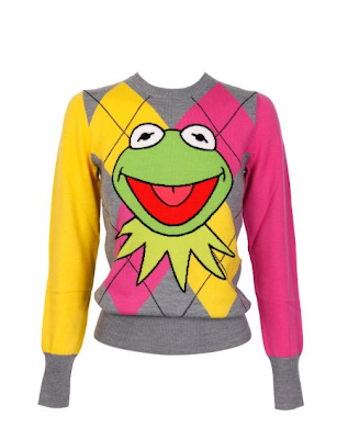 J-C De Castelbajac Kermit Pull-Over