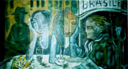 CAFÉ A BRASILEIRA - LISBOA 2004