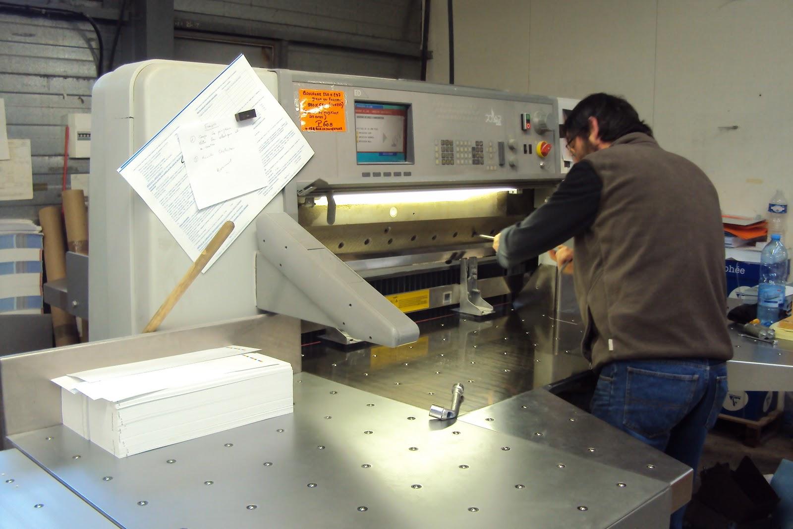 bts dg interne  audrey   stage a en imprimerie   la semaine en un article