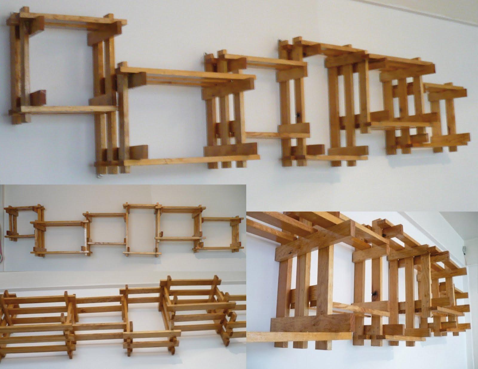 Archivo de trabajo repisas tejidas de madera - Como hacer repisas de madera ...