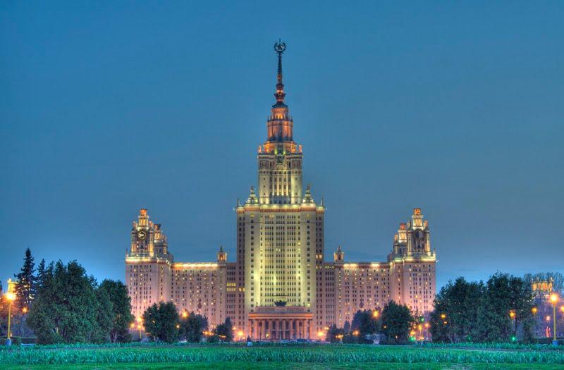 Moskova Üniversitesinin açılışı