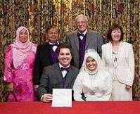 Wedding: Dr Farah Sabtu & Dr Steven Jones @ Salahuddin