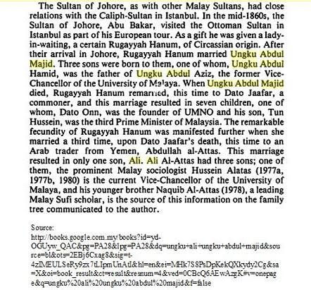 History: Ungku Abdul Majid