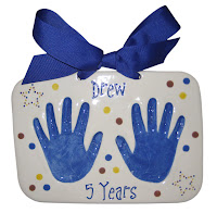 Baby Hand and Footprint Keepsakes