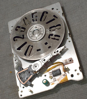 harddriveclock1 How To Scrap Hard Drives