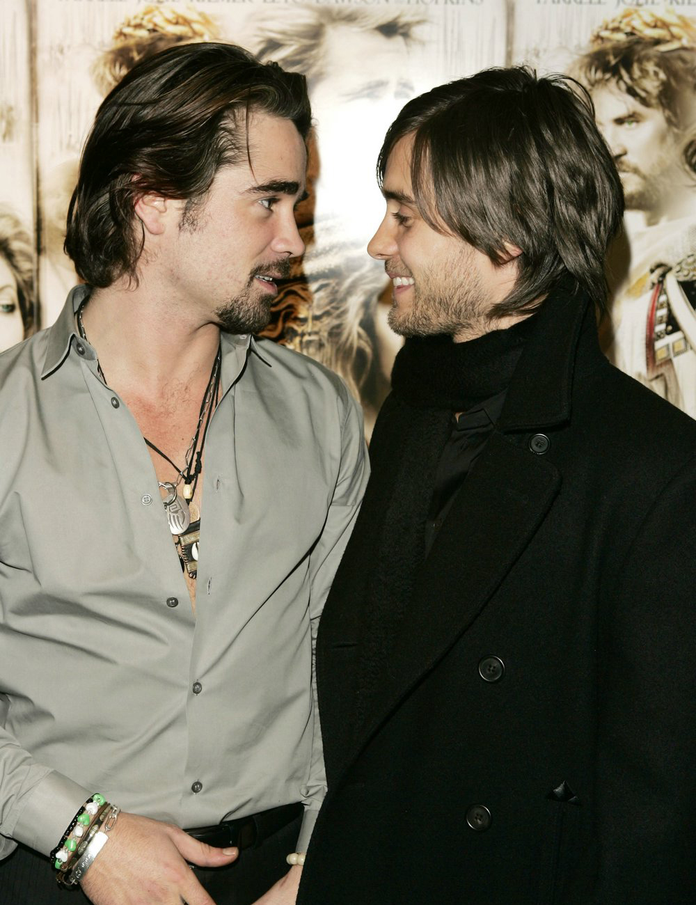 Colin farrell and jared leto alexander