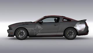SR-71 Blackbird Mustang