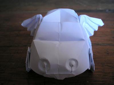 Origami oropel plastificado for Papel pintado plastificado