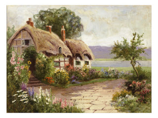 Cottage And Flower Garden