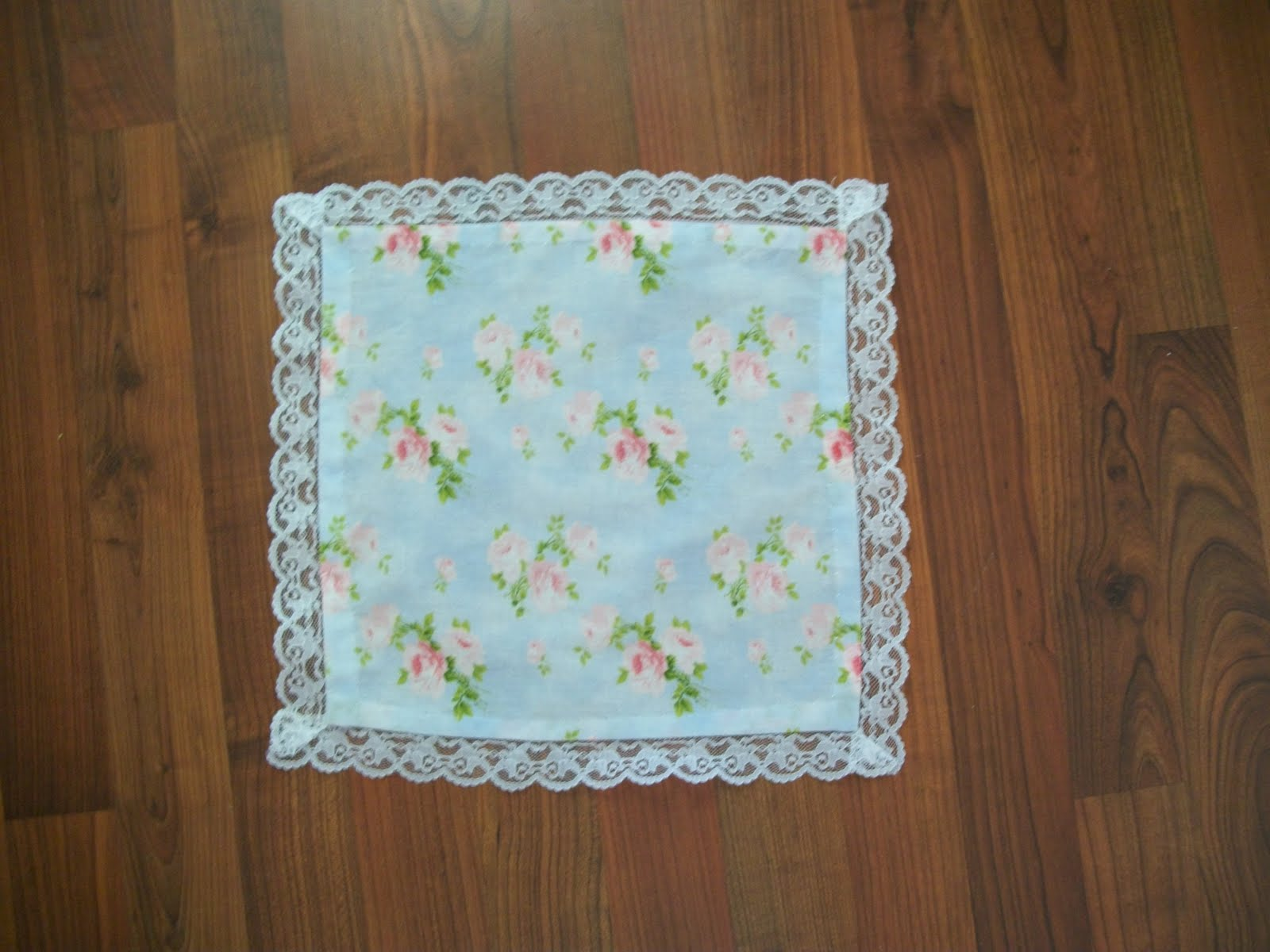handkerchief is a good beginner sewing project because it is small  Beginner Sewing Project