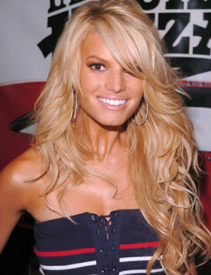 Jessica Simpson Hairstyle | Celebrity HairStyles