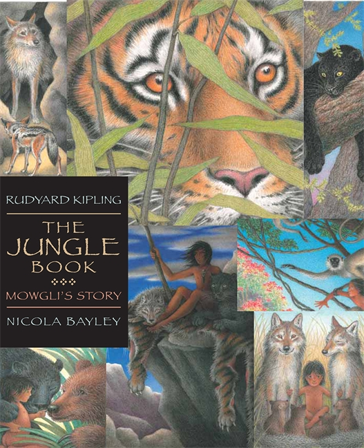 Kiss the book the jungle book by rudyard kipling