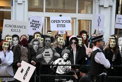 V de Vendetta y Anonymus Watch