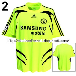 Uniformes Del Chelsea FC  Kit