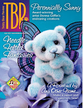 Allistar Featured on Cover of Teddy Bear Review !