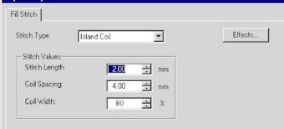 Adjusting Island Coil width