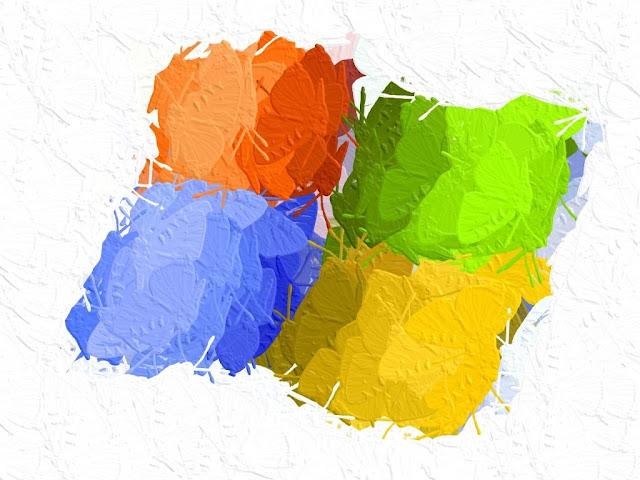 White Desktop Wallpaper Microsoft Windows XP