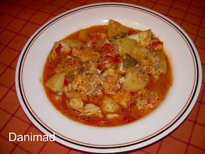 La cocina de dani patatas con bacalao for Cocina bacalao con patatas