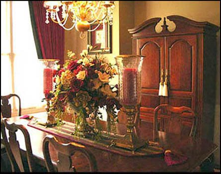 The Stylish House: My Eclectic Old World Dining Room.