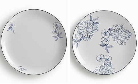 I don\u0027t normally get excited about china patterns but gosh aren\u0027t these Japanese-inspired plates from Calvin Klein home pretty? Totally minimal and modern ...  sc 1 st  the little house in the city & the little house in the city: Blue Plate Special