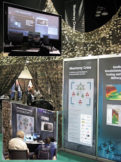 The ESRI Monterey Cross Defense exhibit