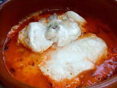 receta de pechugas de pollo al microondas con tomate y queso
