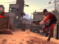 Team Fortress 2 demo man.