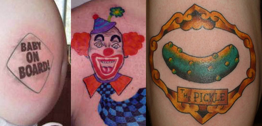 Bad Tattoos: A Gallery