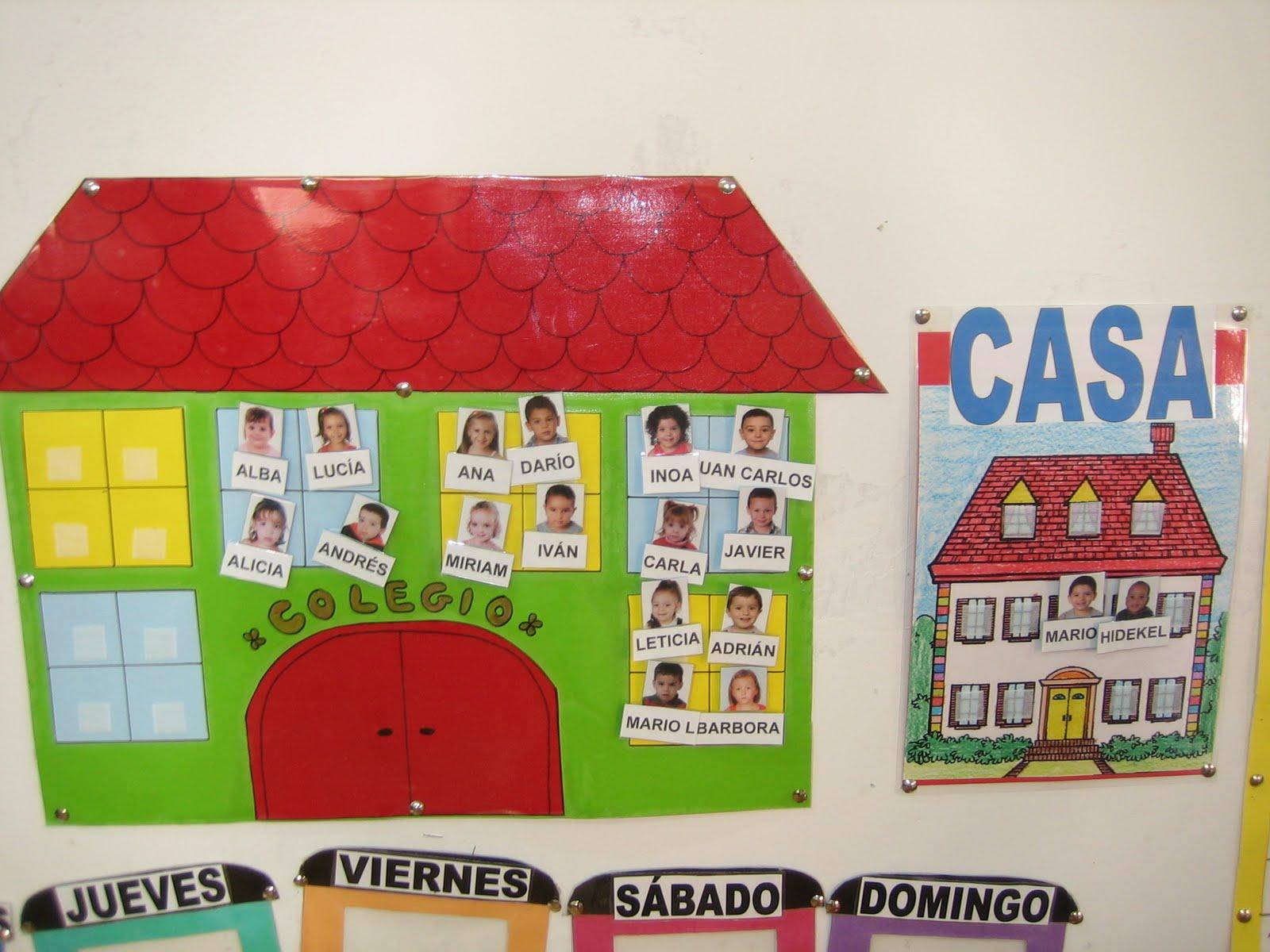 Proyectos infantil rutinas escolares - La casa de las perchas ...