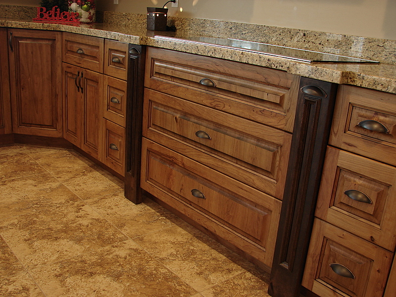 Rustic Cherry Cabinets