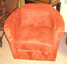 Coral Microfiber Chair