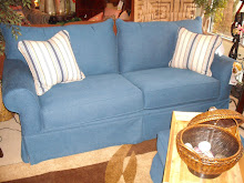 Denim Blue Sleeper,Sofa or Loveseat