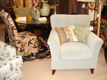 Aqua Accent Chair In Stock Also In Dark Brown