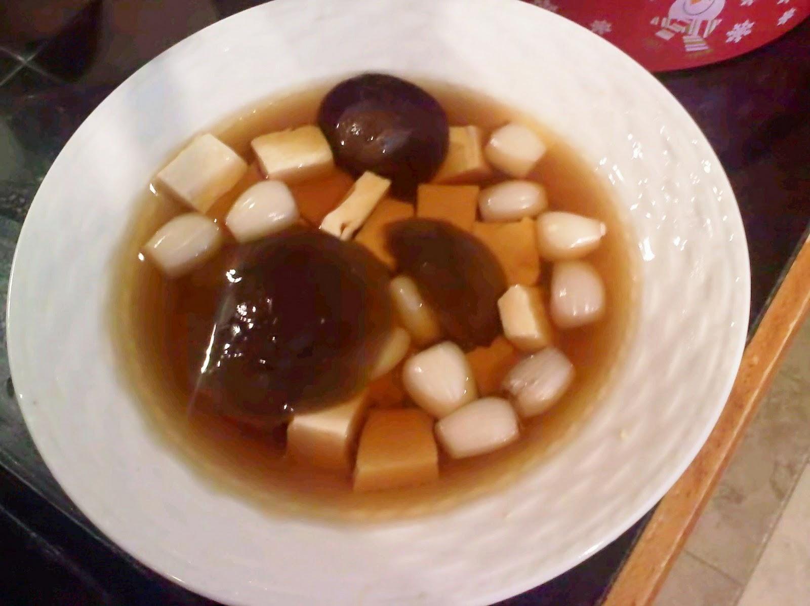Tofu And Scallions In Mushroom Broth Recipes — Dishmaps