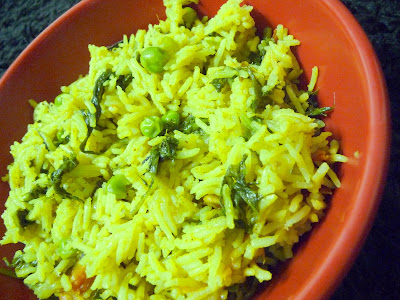 ingredients rice 2 cups preferrably basmati rice spinach 2 cups