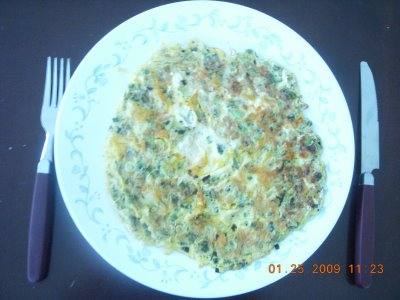 [Gita+Cheese+Omelette+with+scallions]