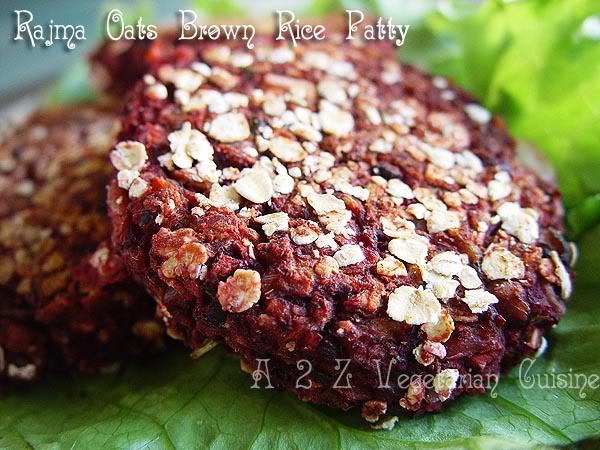 [Muskaan+Protein+packed+vegan+Kidney+Bean+Brown+Rice+&+Oats+Pattice]