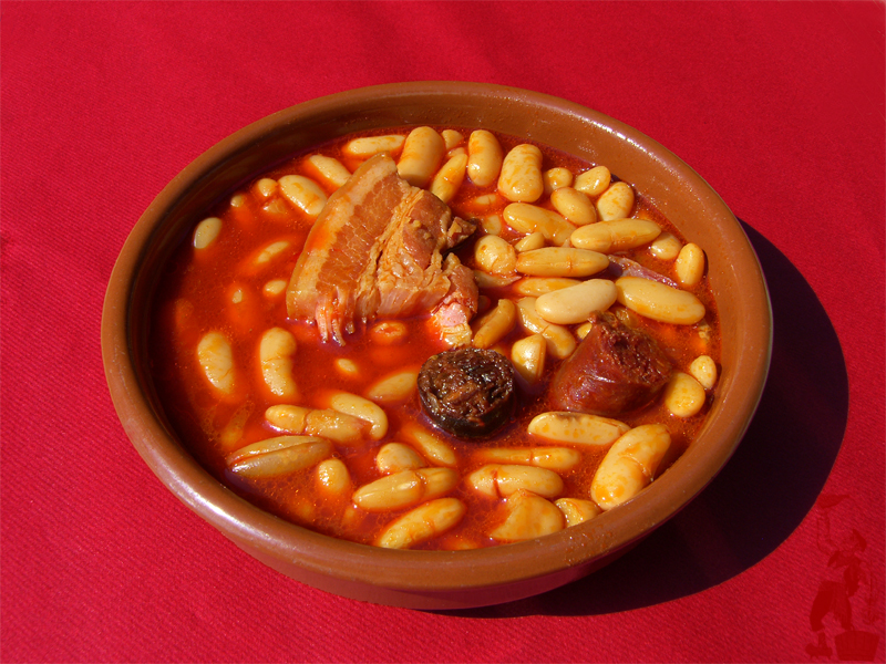 Recetas y trucos de cocina fabada asturiana - Hoya de cocina ...